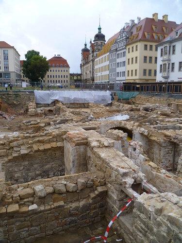 Германия, Дрезден - Старый город (Germany, Dresden - Old Town)