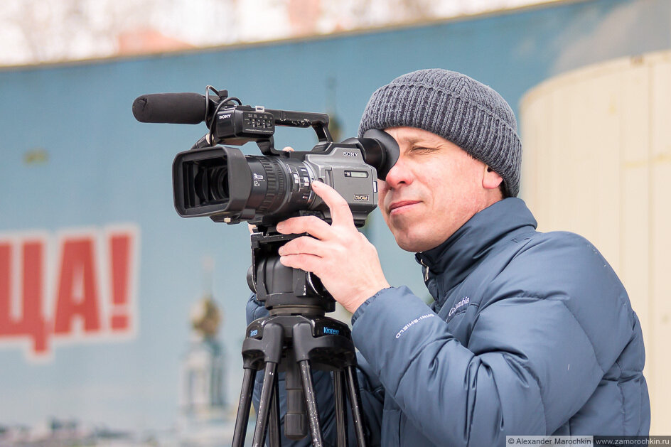 Оператор с видеокамерой
