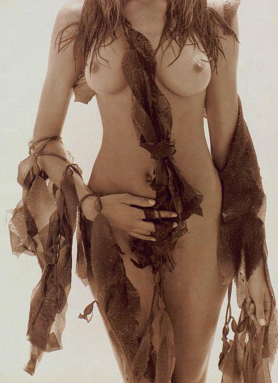 Stephanie Seymour / Стефани Сеймур в журнале Playboy USA, март 1991 / фотограф Herb Ritts