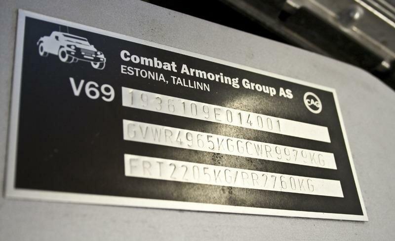 Как делают бронированные автомобили в Эстонии