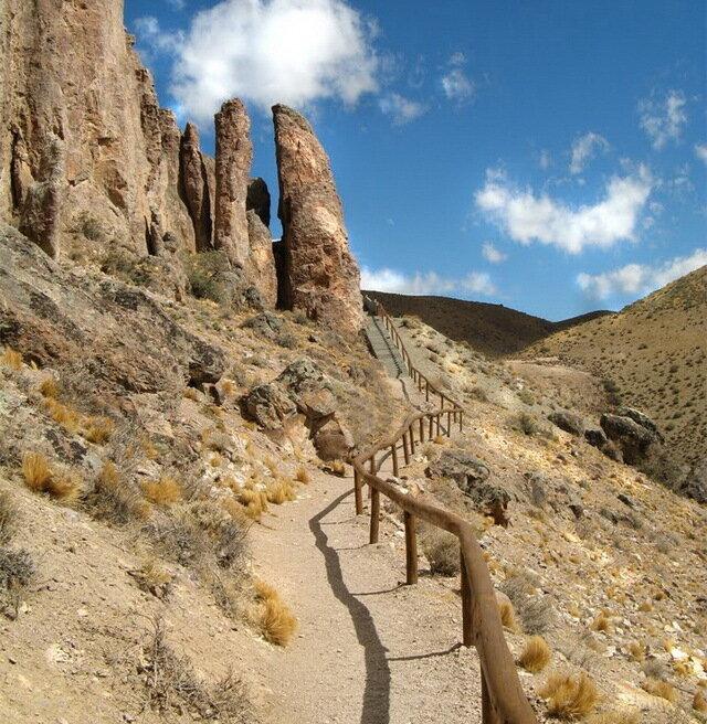 Пещера Куэва-де-лас-Манос. Аргентина