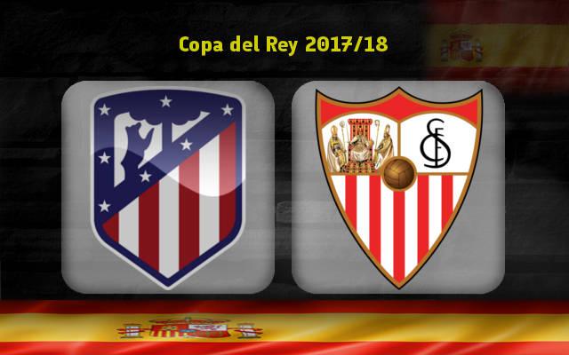 Атлетико – Севилья (17.01.2018) | Кубок Испании 2017/18 | 1/4 финала | Первый матч