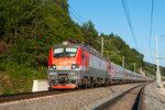 Электровоз ЭП20-012 с поездом №102 Адлер - Москва