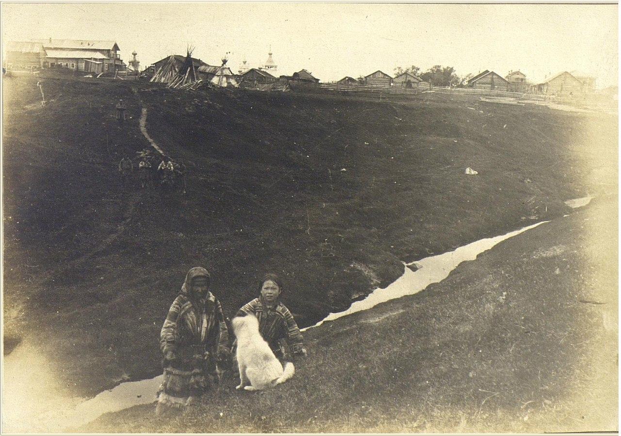 Ненецкие чумы в Мезени. 1905-1906