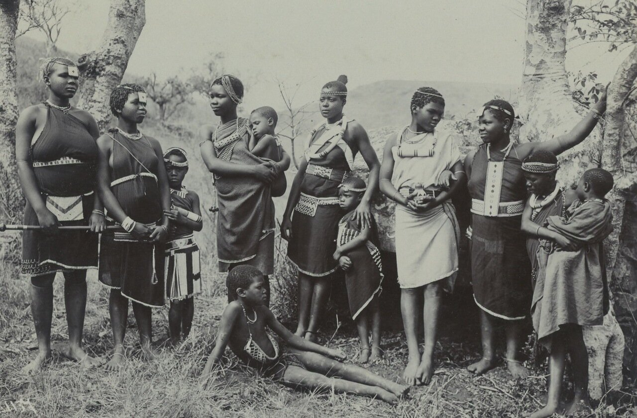 Южная Африка, 1909.