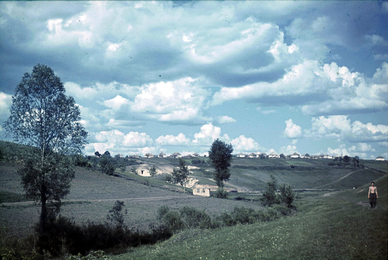 Белгородская область. Панорама деревни