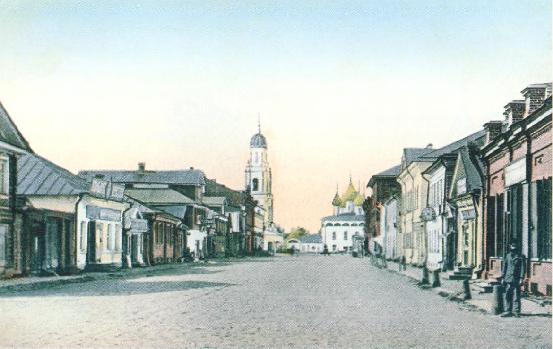 Центр Ярославской улицы