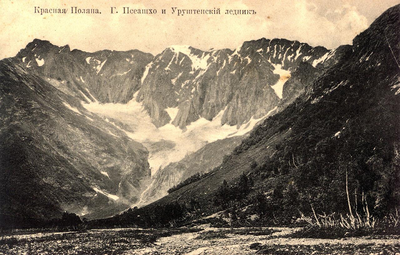 Красная поляна. Гора Псеашхо и Уруштенский ледник