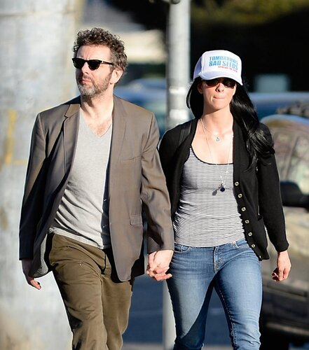 Sarah Silverman, Michael Sheen _ 022314K14_SILVERMAN_NPG_01