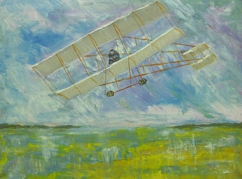 Первый полет аэроплана