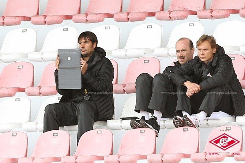 «Спартак» vs «Хельсингборг» 3:2 контрольный матч 2014 (Фото)