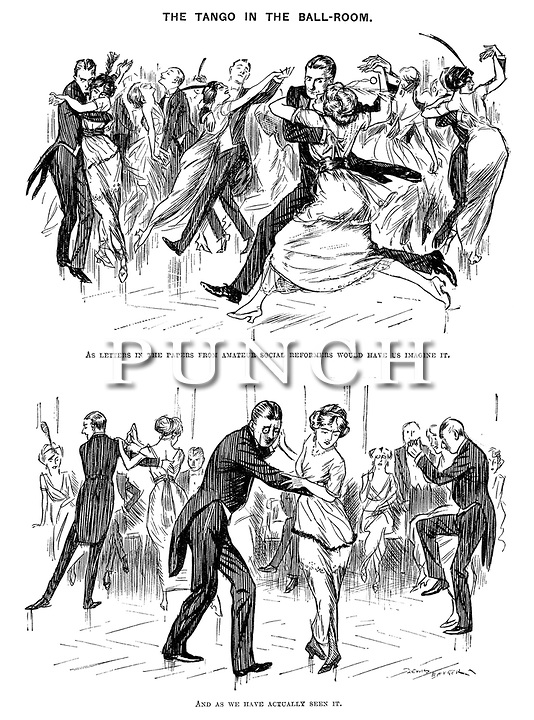 Punch cartoons by Lewis Baumer