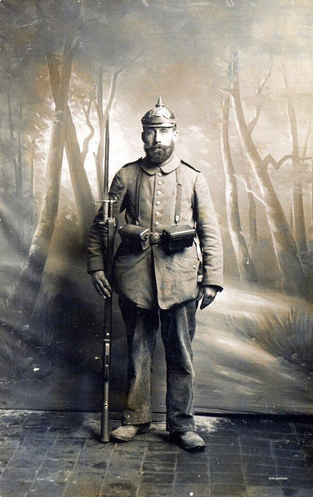 Bavarian Landwehr infantryman