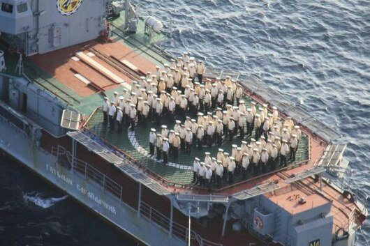 Команда фрегата «Гетман Сагайдачный» заявила о верности украинскому народу - ФОТО