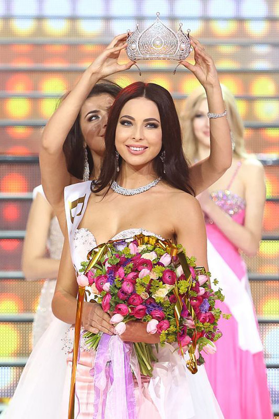 Юлия Алипова «Мисс России – 2014»: «За высокий рост меня дразнили в школе»