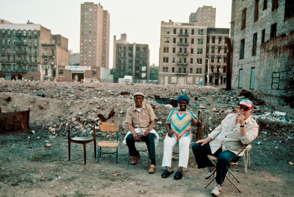 Странные фотографии Нью-Йорка 80-х
