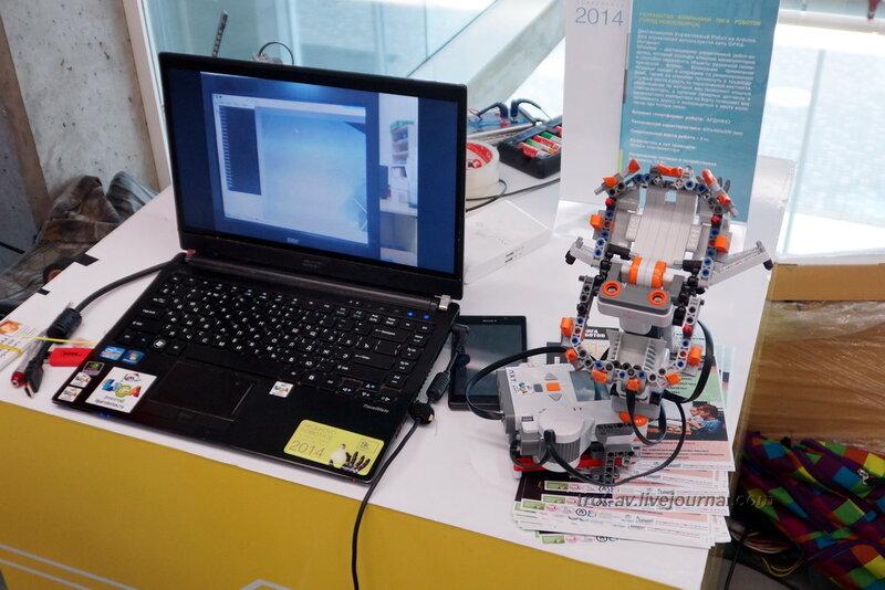 """WHEELSAR компании """"Лига роботов"""", Конференция и выставка Skolkovo Robotics 2014"""