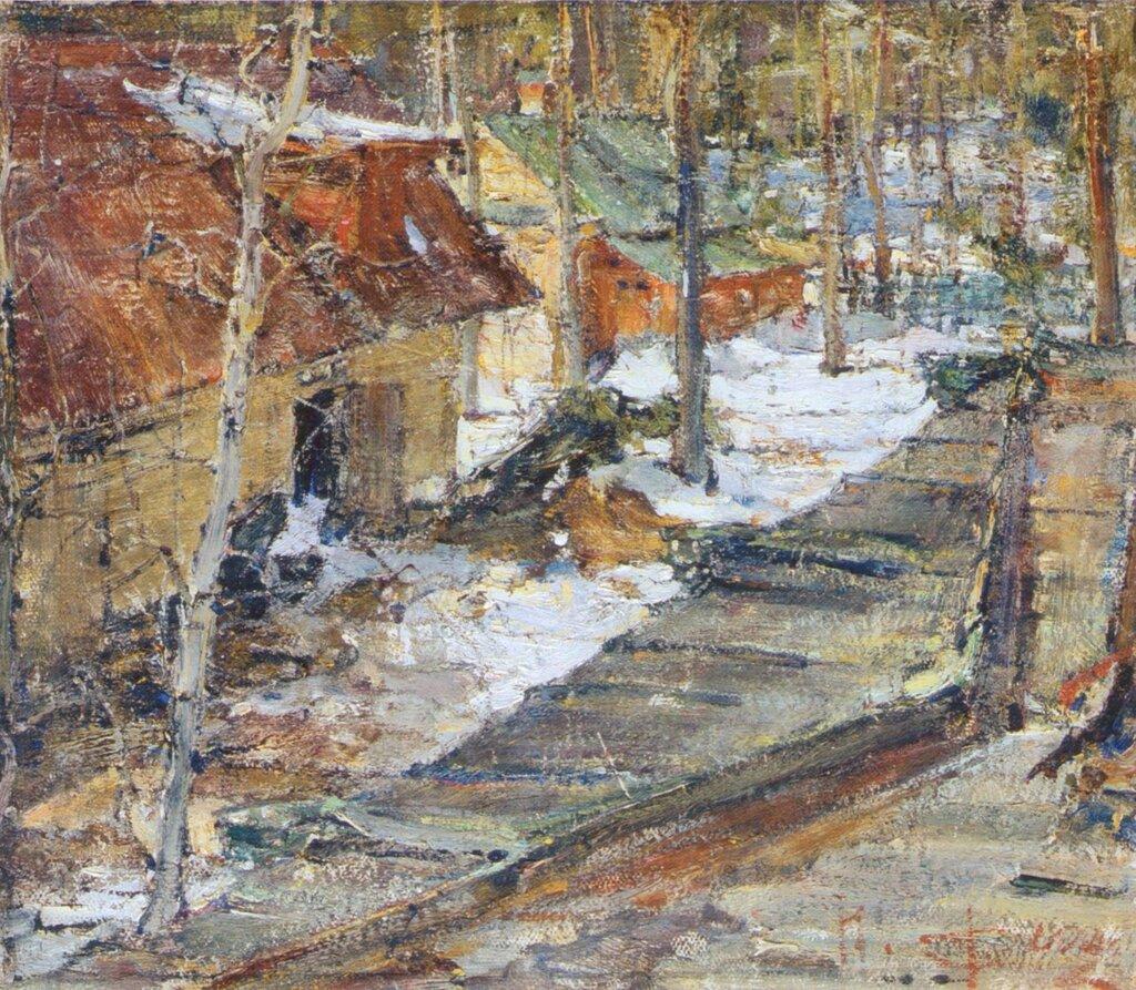 Зимний пейзаж (1900-е).jpg