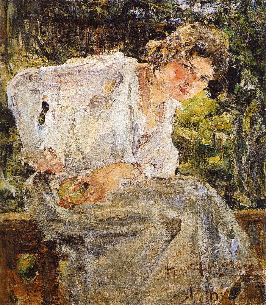 Портрет молодой женщины (Натальи Подбельской) (1916).jpg