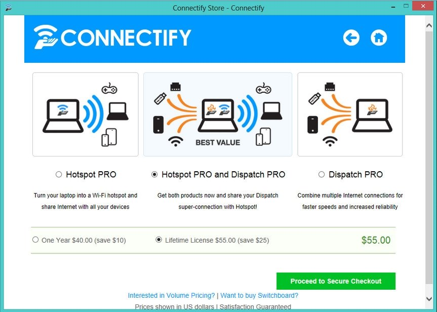Connectify me 3.1