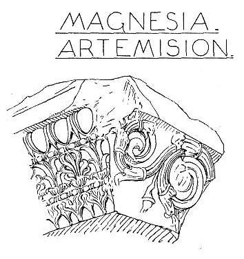 Храм Артемиды в Магнесии-на-Меандре, капитель