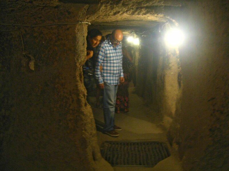 Каппадокия. Подземный город Каймаклы - Пещеры, Города - turkey, cappadocia