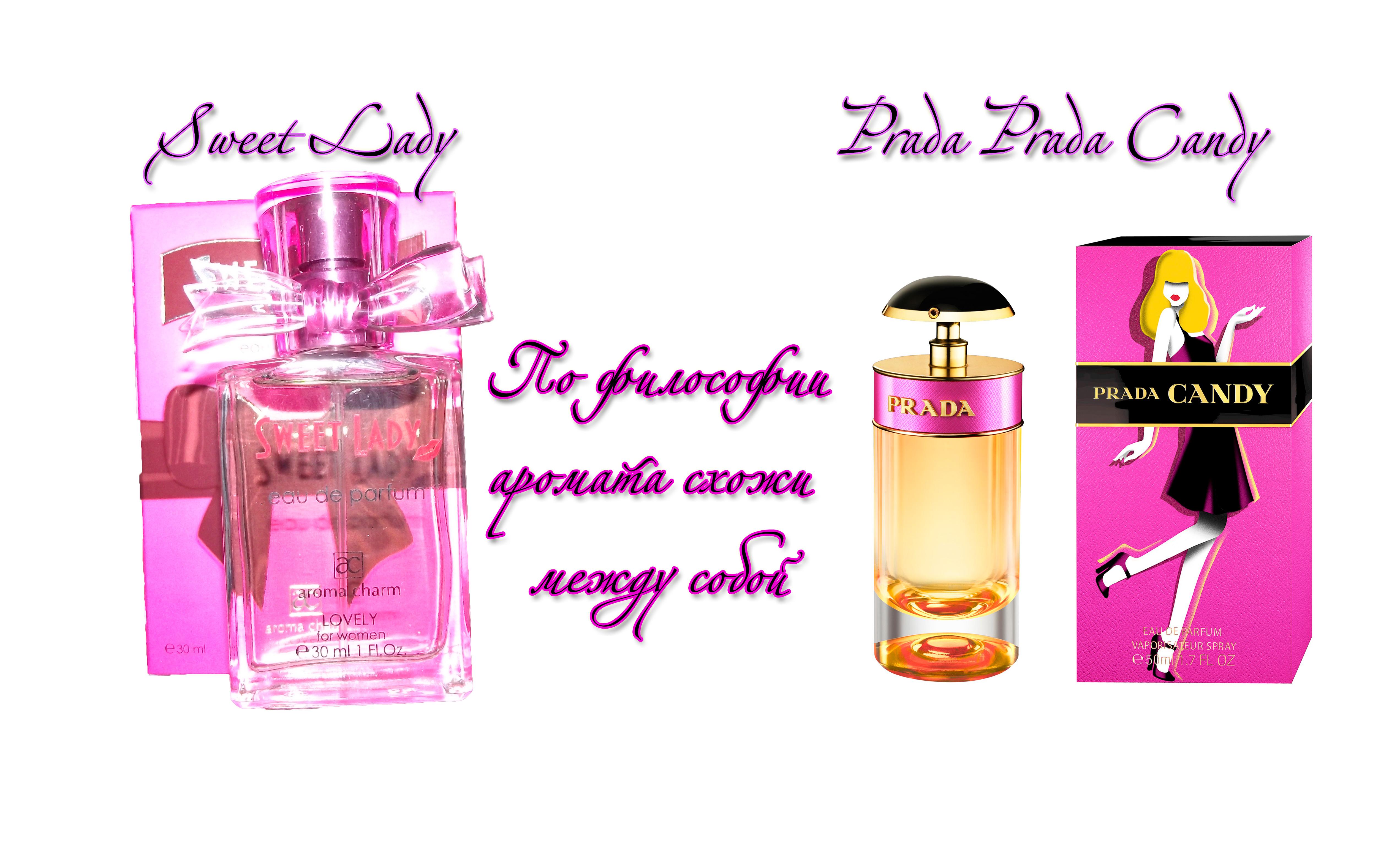 Sweet Lady философия аромата Prada Prada Candy