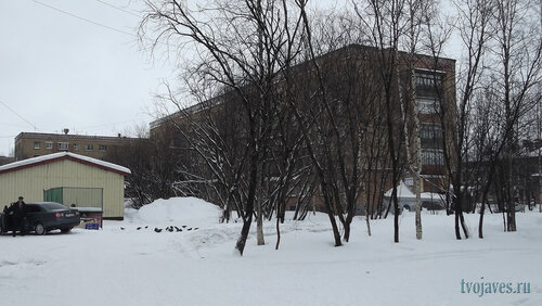 Фото города Инта №6475  Горького 7а, 5 и 5а 26.02.2014_12:34