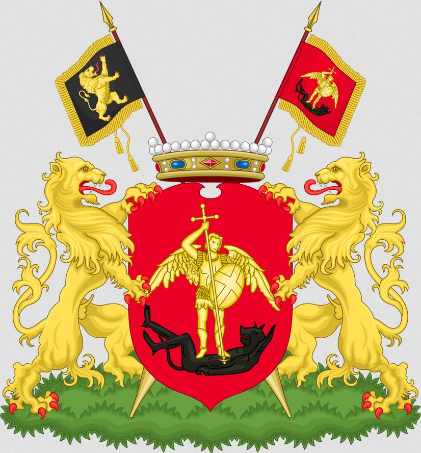 The Flag and Coat of Arms of Brussels