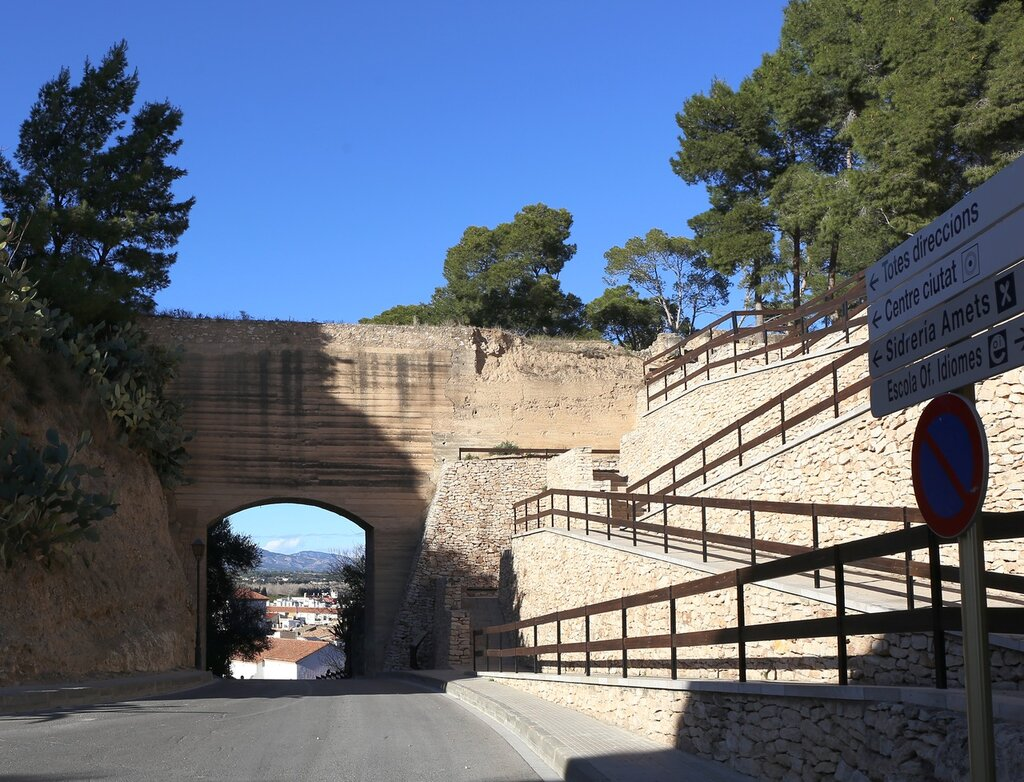 the Fort of San Juan. Avançades de Sant Joan