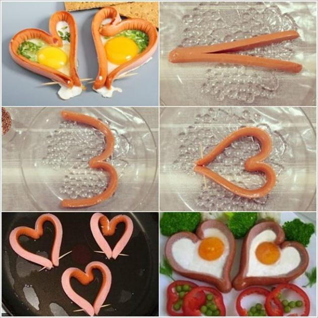 Как делать красивое еды