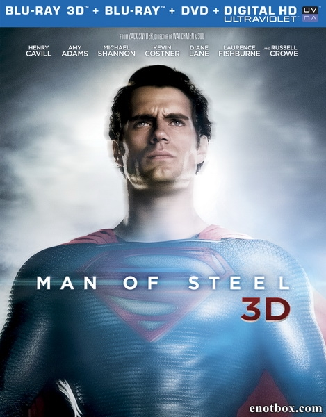 Человек из стали / Man of Steel (2013/BD-Remux/BDRip/HDRip/3D)