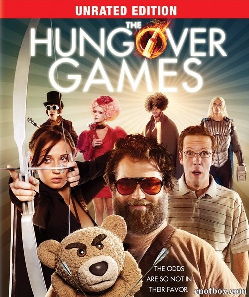 Похмельные игры / The Hungover Games (2014/WEB-DL/WEB-DLRip)