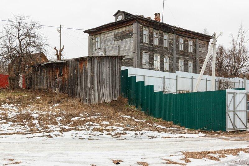 Старый дом недалеко от устья Кимрки, Кимры