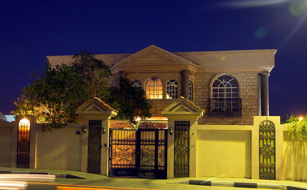 Casa nos Emirados.