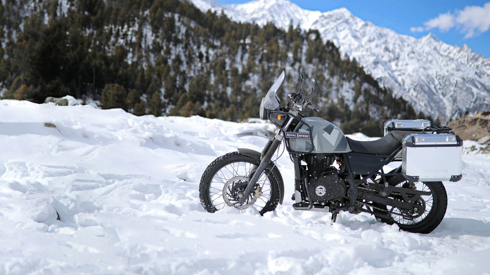 Мотоцикл Royal Enfield Himalayan Sleet (только Индия)