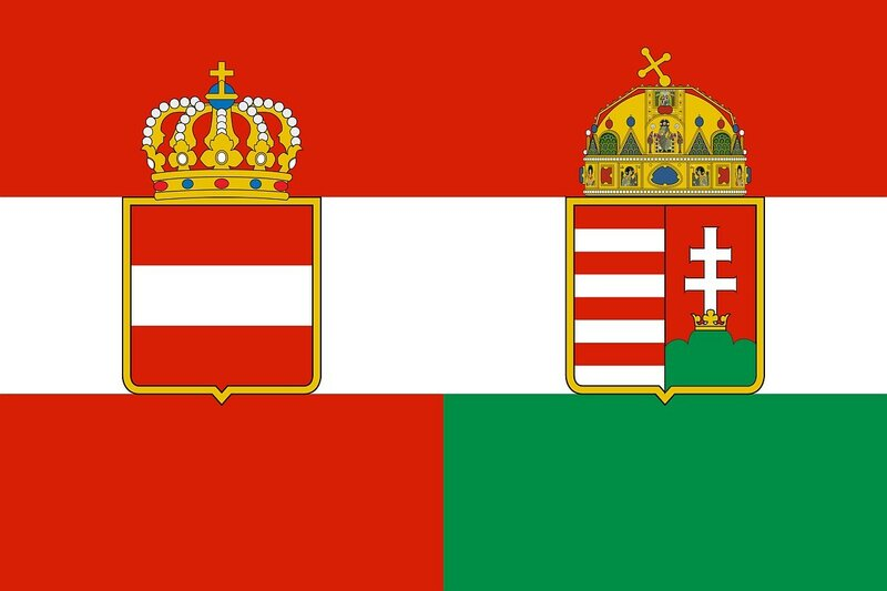 Флаг Австро-Венгрии