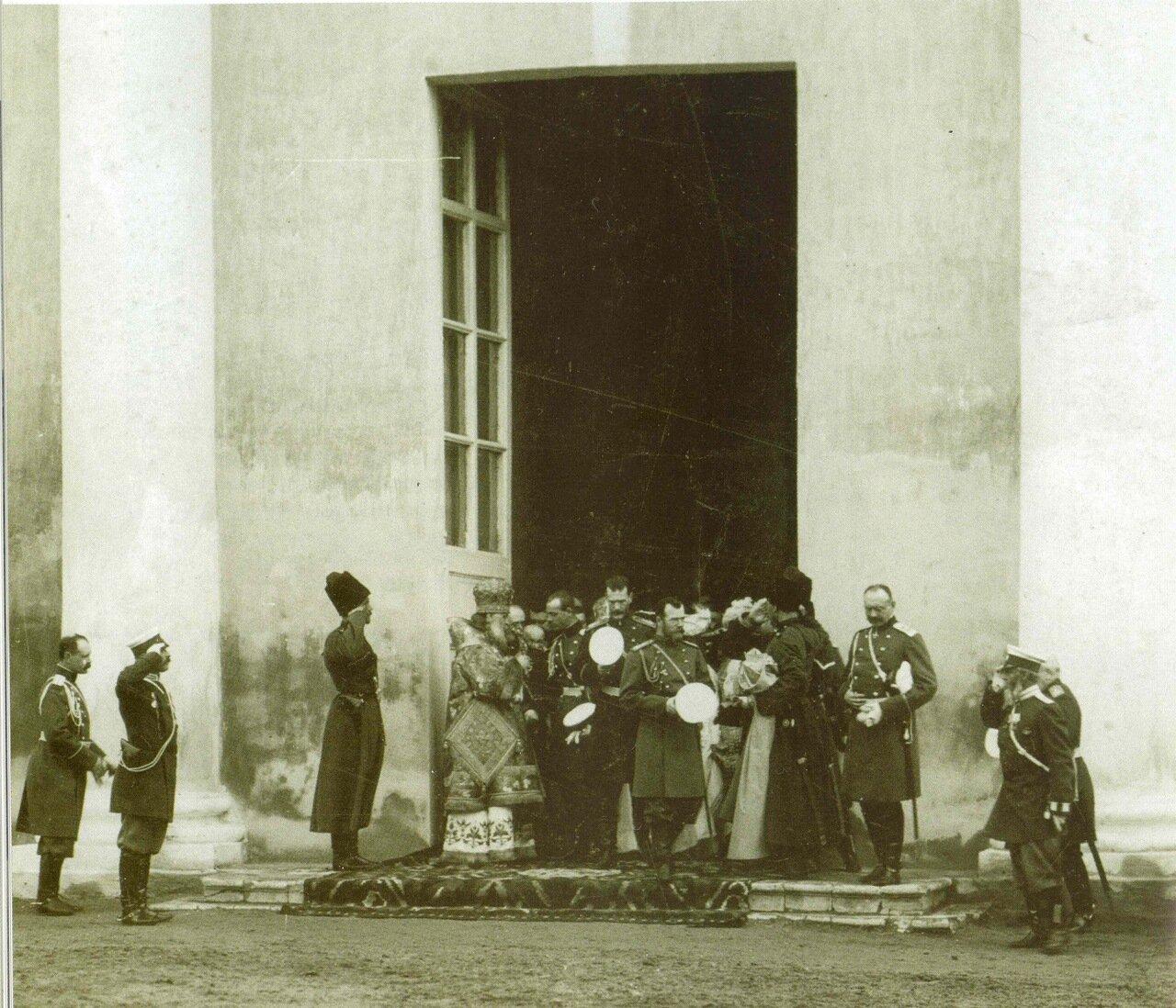 Посещение императором Николаем II Кафедрального Собора г. Калуги