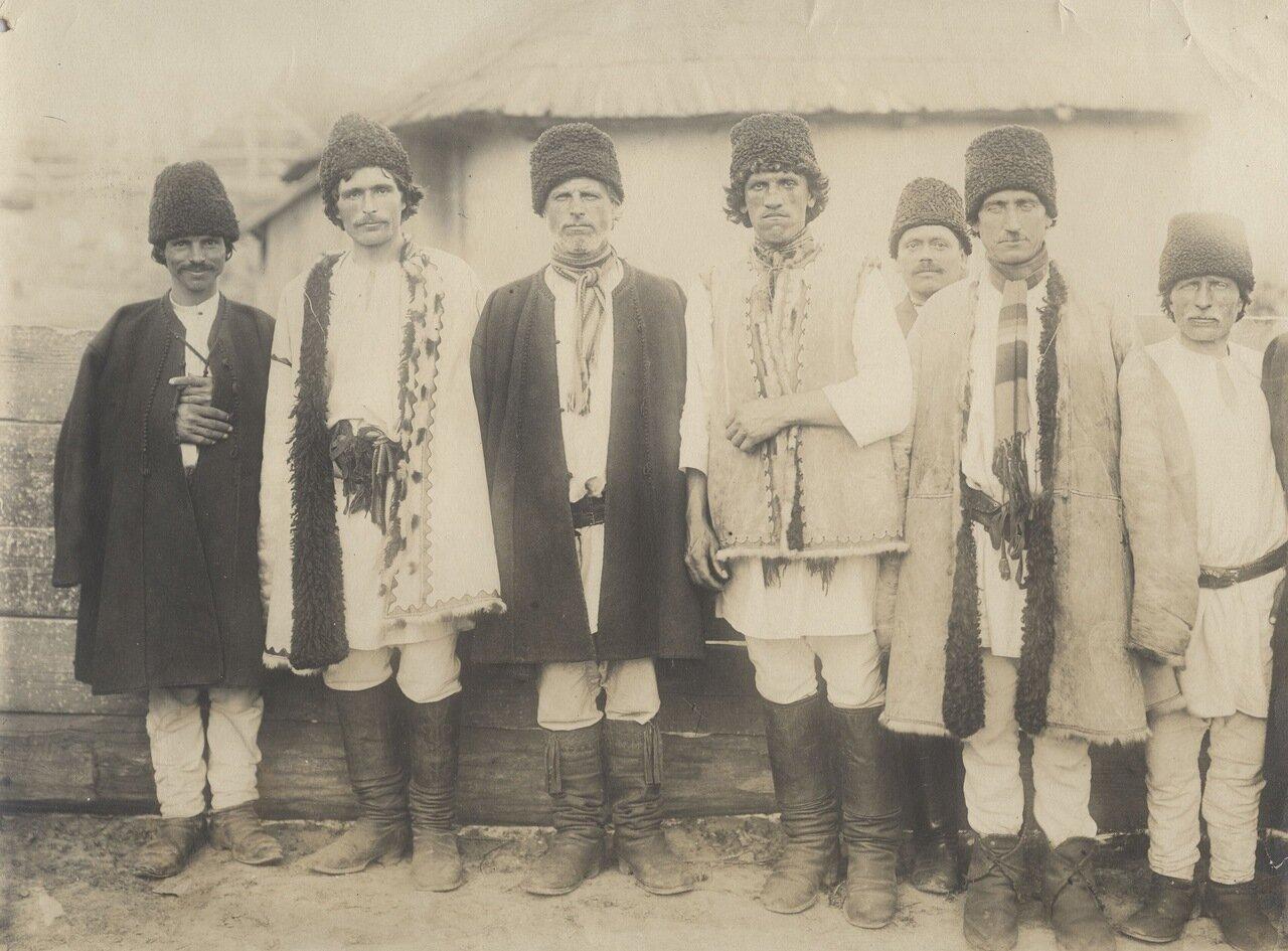 Типы жителей Бессарабии