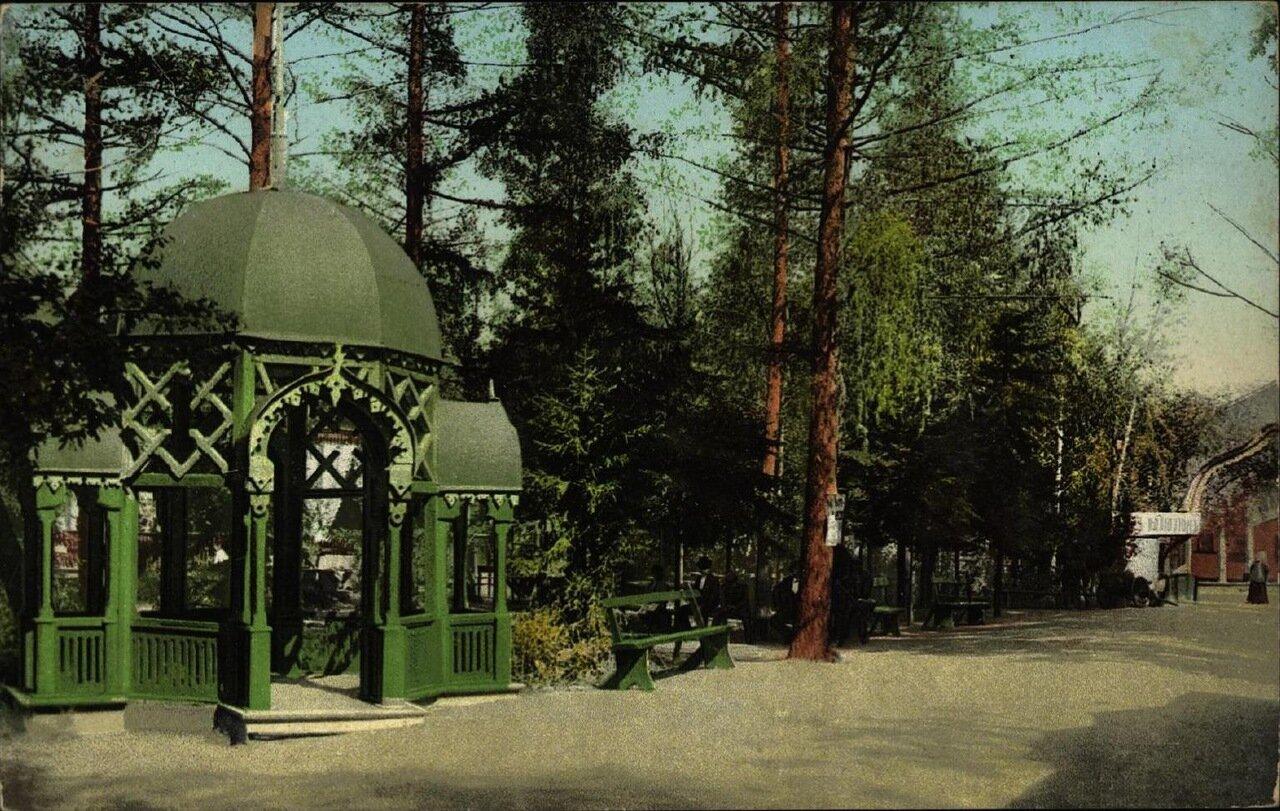 Интендантскийiй Сад. Беседка