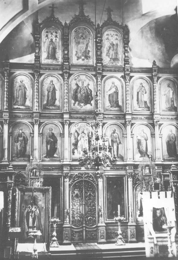 Богоявленский собор. Главный иконостас