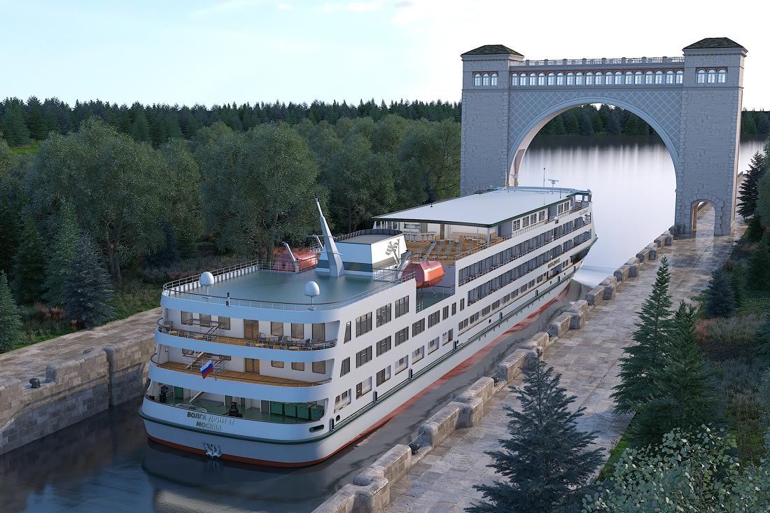 новый теплоход Волга Дрим 2