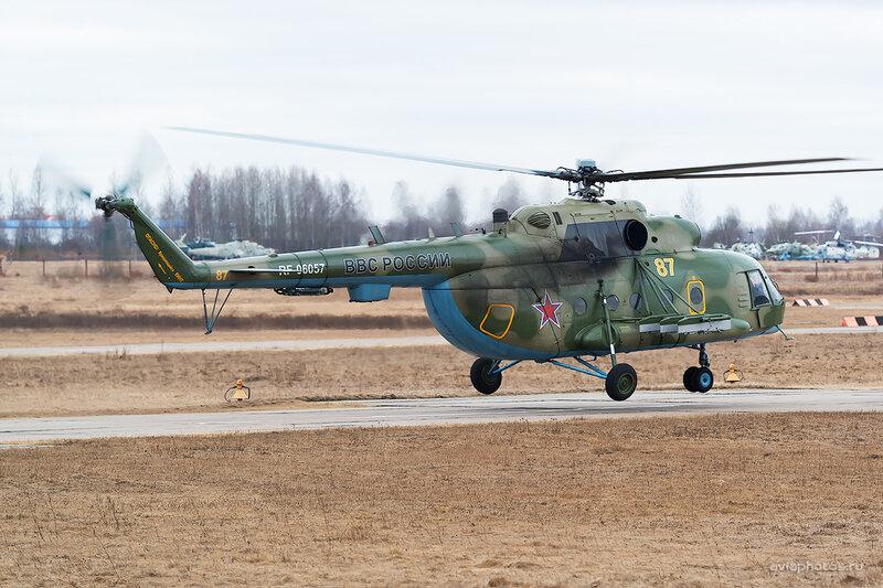 Миль Ми-8МТ (RF-06057 / 87 жёлтый) D803937