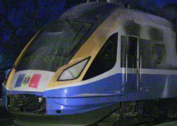 Пожар в поезде Унгены - Кишинев допустил машинист