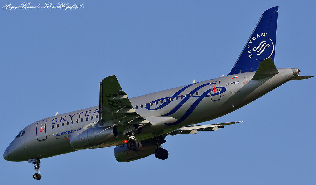 Sukhoi Superjet 100-95B Aeroflot