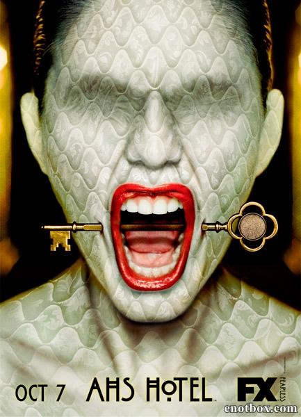 Американская история ужасов. Отель / American Horror Story. Hotel - Полный 5 сезон [2015, WEB-DLRip | WEB-DL 720p, 1080p] (LostFilm | Amedia)