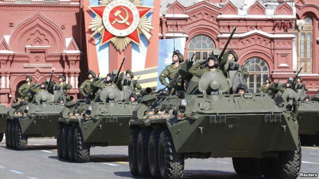 Парад в Москве 2015