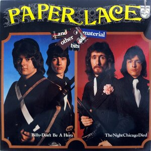 Paper Lace ‎– ...And Other Bits Of Material (1974) [Philips, 6303 116]