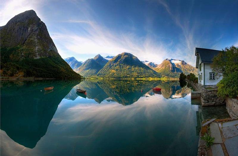 Красивые фотографии природы Норвегии разных авторов 0 ff0ea 2fb76ecb orig