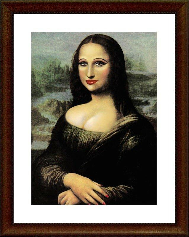 Современная интерпретация живописи
